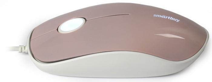 SmartBuy SBM-349-I, Pink мышь проводная с подсветкойSBM-349-IМышь проводная с подсветкой Smartbuy 349 розовая (SBM-349-I)/120/