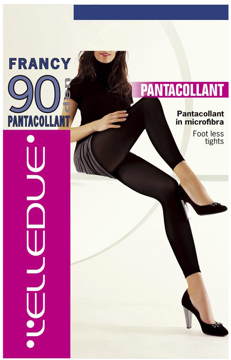Леггинсы женские LElledue Francy 90, цвет: Nero (черный). Размер 1/2Francy 90Леггинсы от LElledue с микрофиброй и эластаном. Плоские швы, ластовица.