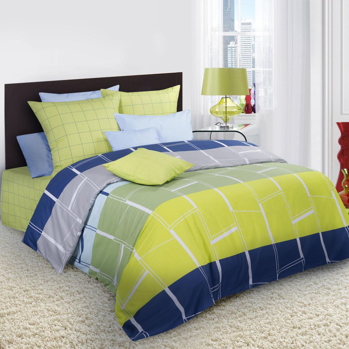 Комплект белья Guten Morgen, 1,5-спальный, наволочки 70х70. Пг-70175-143-150-70Пг-70175-143-150-70Не отказывайте себе в удовольствии оценить широкий спектр дизайнов, включающий в себя большое количество стилей и разнообразных мотивов. Комплект белья Guten Morgen - свежее решение в вопросе выбора между комфортом и изысканностью. Коллекция постельного белья Guten Morgen рождена с особым теплом и заботой, чтобы впоследствии стать стильной деталью вашего интерьера.