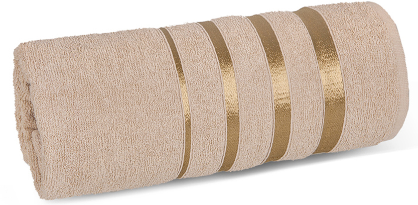 Полотенце махровое Soavita luxury, цвет: коричневый, 65 х 138 см97458Что бы изделие прослужило долго, нужно соблюдать правила ухода, см. значки ухода за изделием.