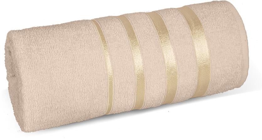 Полотенце махровое Soavita luxury, цвет: бежевый, 65 х 138 см97462Что бы изделие прослужило долго, нужно соблюдать правила ухода, см. значки ухода за изделием.
