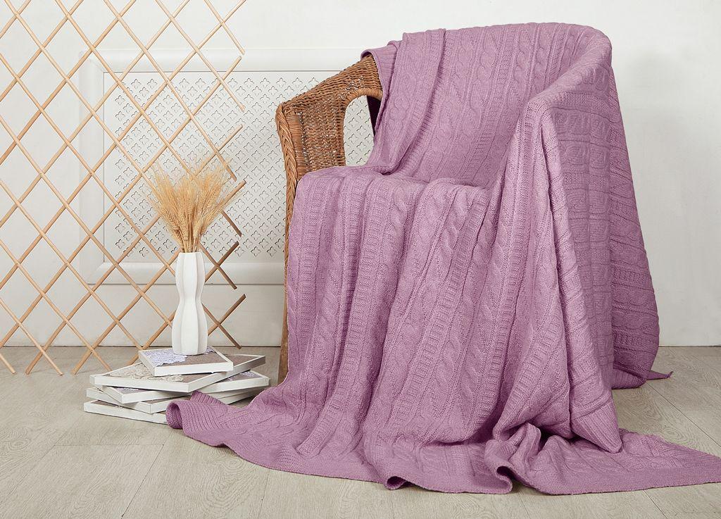 Плед ТД Текстиль, цвет: клюквенный, 160 x 220 см плед тд текстиль absolute цвет серый 150 х 200 см 89560