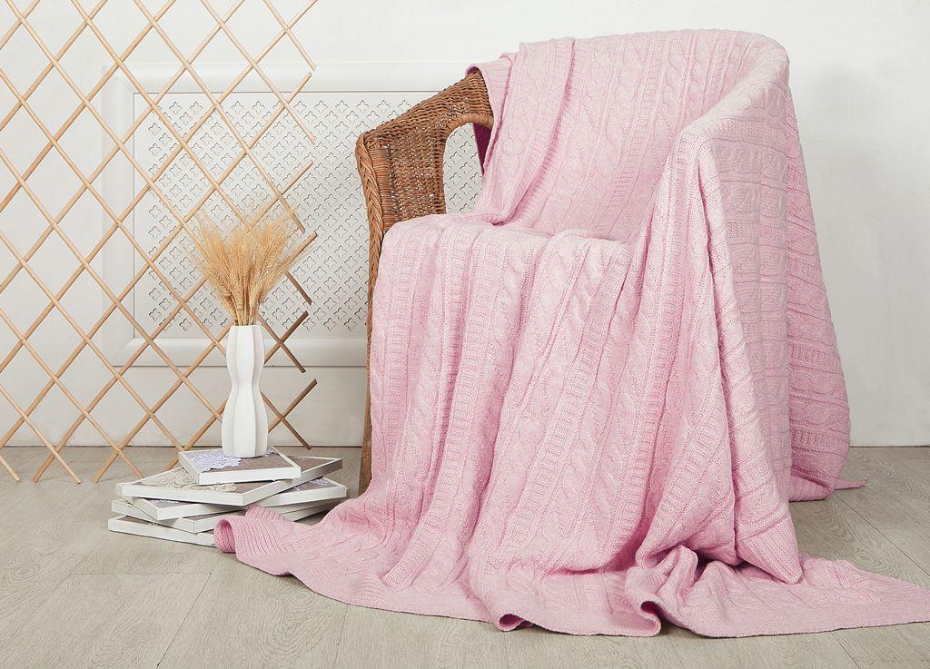 Плед ТД Текстиль, цвет: розовый, 160 x 220 см99010Плед ТД Текстиль - это идеальное решение для вашегоинтерьера. Плед, выполненный из 100% акрила,порадует вас легкостью и нежностью. Плед - это такой подарок, который будет всегда актуален,особенно для ваших родных и близких, ведь вы дарите имчастичку своего тепла!