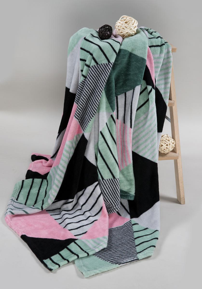 Покрывало Guten Morgen Оригами, 150 x 200 см плед покрывало guten morgen азалия цвет розовый 150 х 200 см