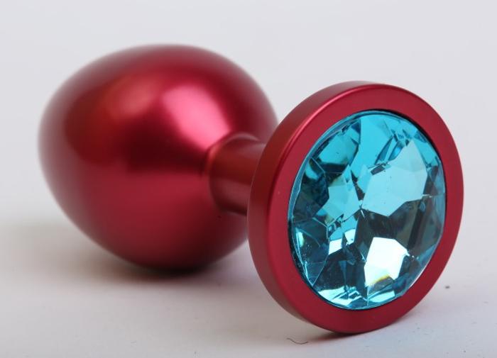 4sexdreamАнальная пробка средняя, цвет:  красный, голубой 4sexdream