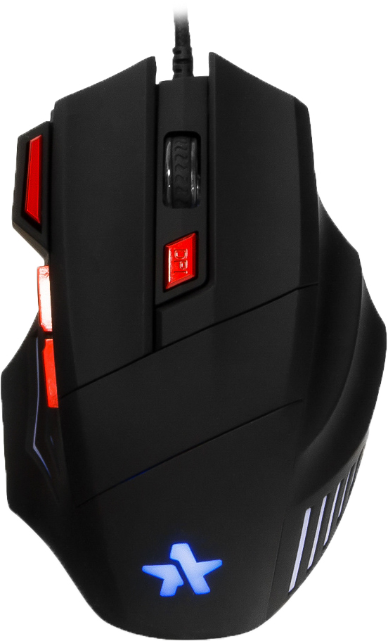 Гарнизон GM-720G Хара, Black игровая мышьGM-720GМышь игровая Гарнизон GM-720G, Хара, код Survarium, USB, чип Х3, черн., софт тач, 2400 DPI, 6 кн.+колесо-кнопка