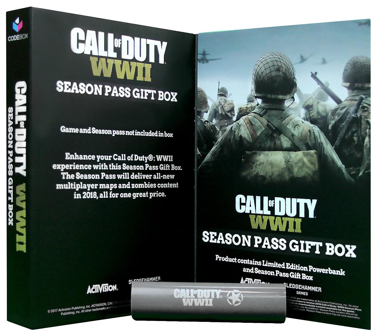 Call of Duty WW2 внешний аккумулятор