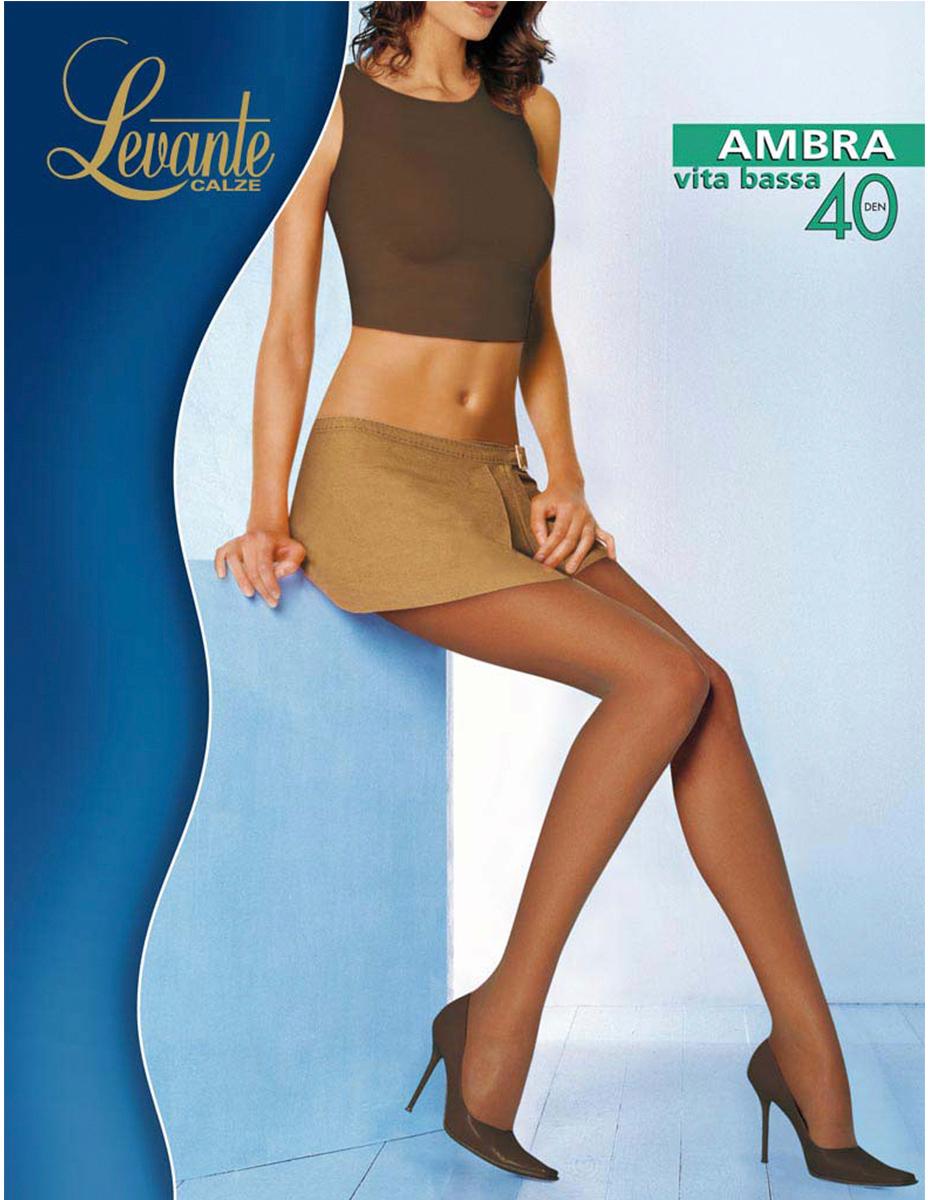Колготки женские Levante Ambra 40 VB, цвет: Naturel (бежевый). Размер 4 колготки женские levante ambra 40 vb цвет glace темно бежевый размер 4