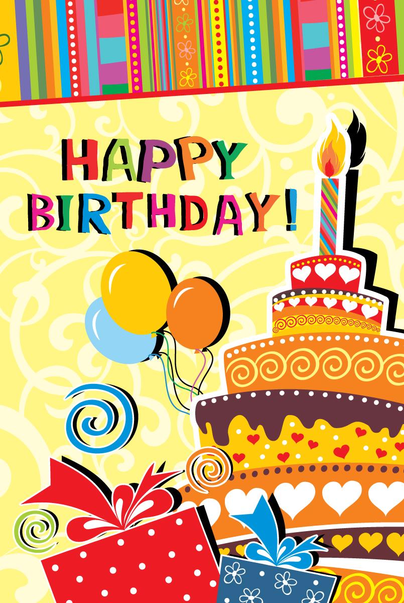 Открытка сувенирная Happy Birthday!273797Открытка – поздравительная карточка, которая прочно вошла в быт человека. Не обязательно дарить дорогой подарок, главное внимание, достаточно выбрать подходящую картинку на открытке и вручить дорогому человеку.