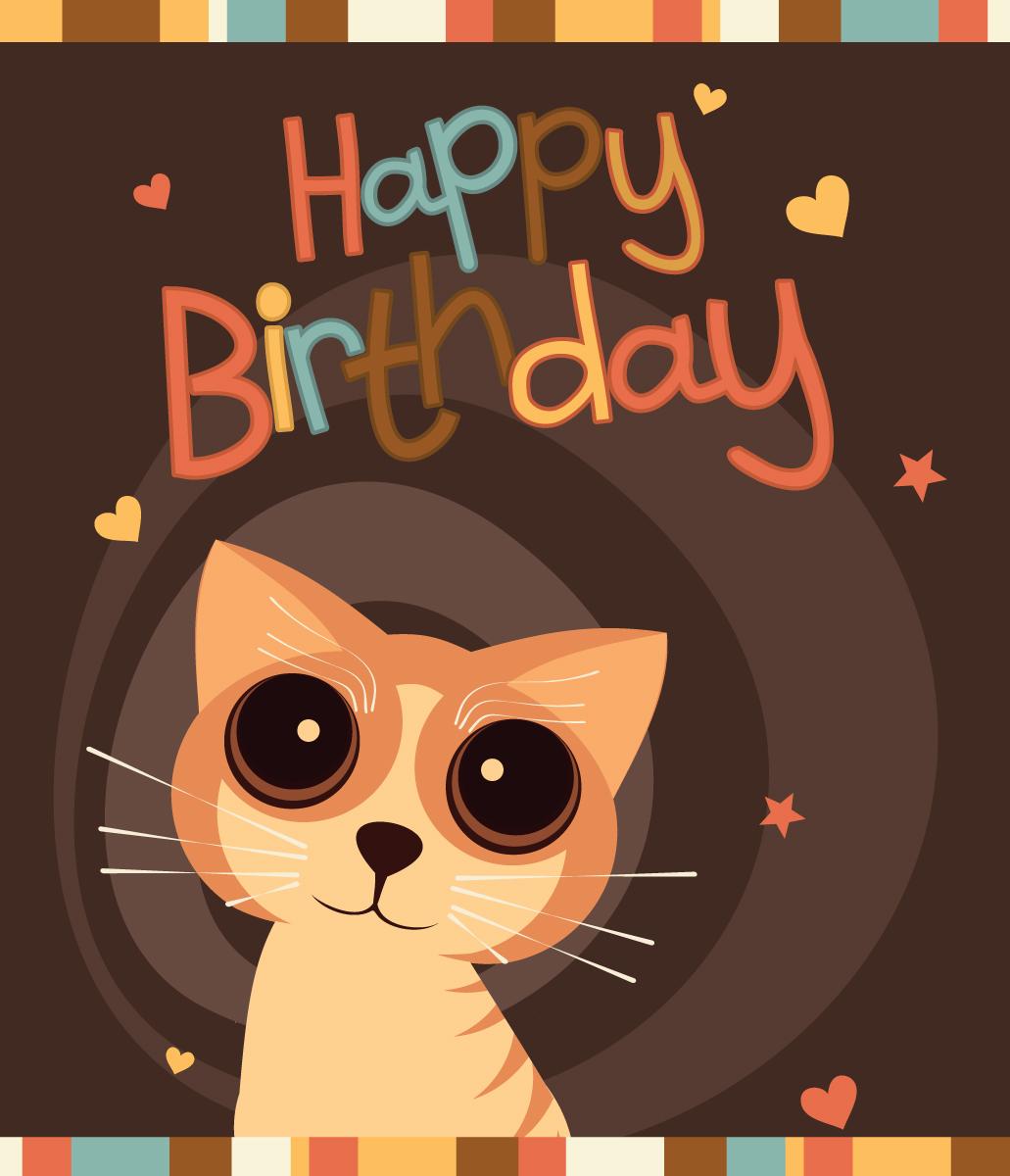 Открытка сувенирная Happy Birthday. 273801273801Открытка – поздравительная карточка, которая прочно вошла в быт человека. Не обязательно дарить дорогой подарок, главное внимание, достаточно выбрать подходящую картинку на открытке и вручить дорогому человеку.