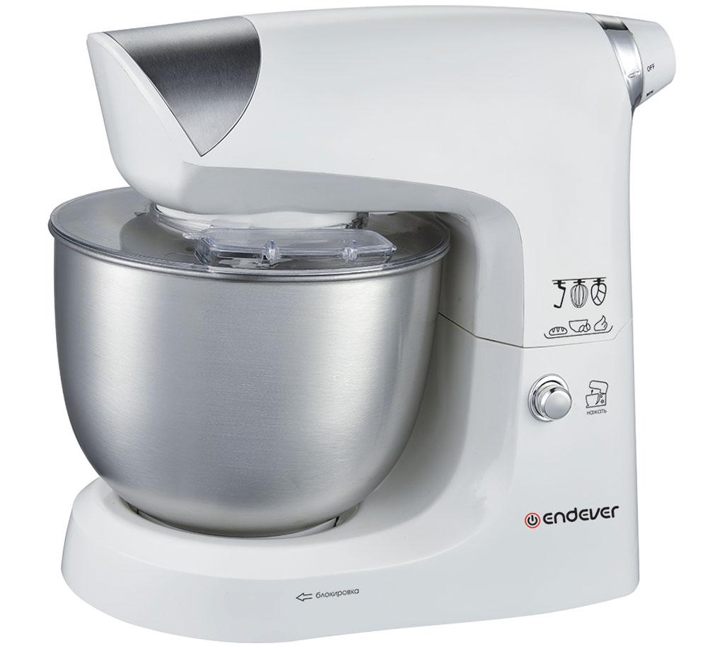 Endever Sigma-24, White Silver кухонный комбайн
