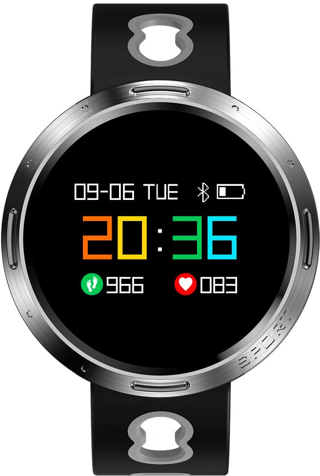 Prolike PLSW4000G, Black Gray умные часыPLSW4000GУмные часы PLSW4000 выполнены в стильном стальном корпусе и дополнены ударопрочным закаленным стеклом. Цветной OLED дисплей с понятным и удобным управлением делает эти часы незаменимым помощником в отслеживании малейших изменений в показателях здоровья. Часы оснащены всем необходимым функционалом для активного использования: мониторинг физической активности, отслеживание показателей здоровья, уведомления о входящих сообщениях, функция дистанционного управления камерой. Часы PLSW4000 подходят всем пользователям, которые заботятся о своем здоровье и идут в ногу со временем.