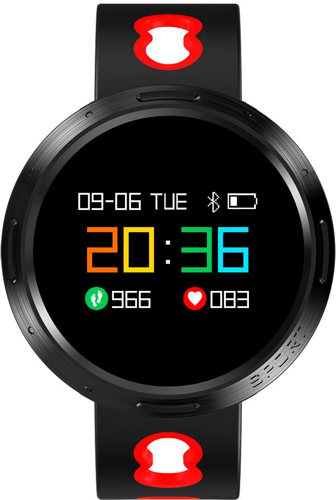 Prolike PLSW4000R, Black Red умные часыPLSW4000RУмные часы PLSW4000 выполнены в стильном стальном корпусе и дополнены ударопрочным закаленным стеклом. Цветной OLED дисплей с понятным и удобным управлением делает эти часы незаменимым помощником в отслеживании малейших изменений в показателях здоровья. Часы оснащены всем необходимым функционалом для активного использования: мониторинг физической активности, отслеживание показателей здоровья, уведомления о входящих сообщениях, функция дистанционного управления камерой. Часы PLSW4000 подходят всем пользователям, которые заботятся о своем здоровье и идут в ногу со временем.