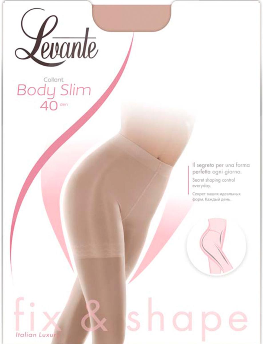 Колготки женские Levante Body Slim 40, цвет: Nero (черный). Размер 4