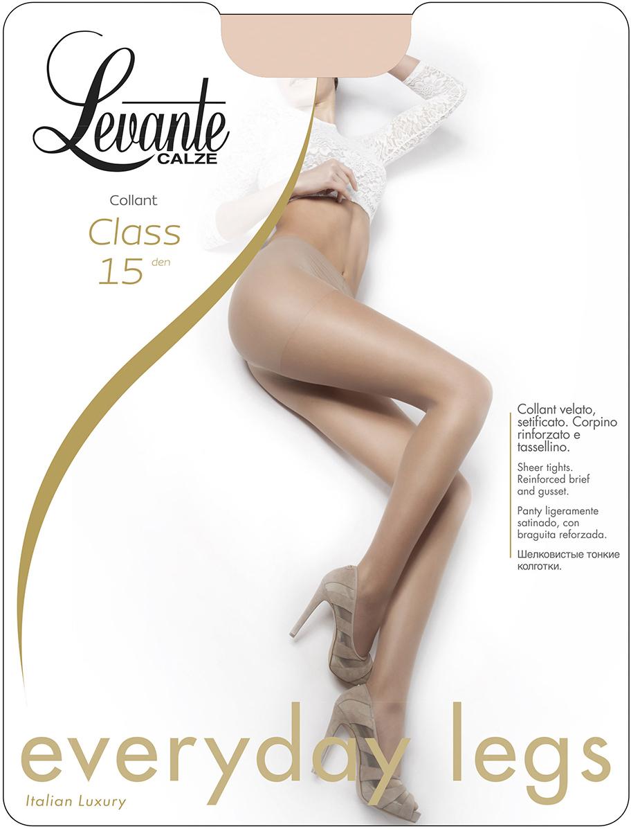 Колготки женские Levante Class 15, цвет: Nero (черный). Размер 4