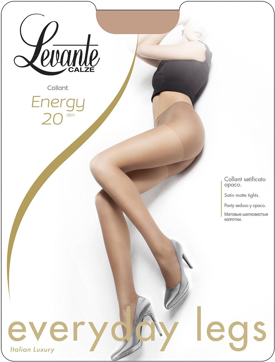 Колготки женские Levante Energy 20, цвет: Naturel (бежевый). Размер 2Energy 20Шелковистые матовые колготки Levante с усиленными шортиками и мыском.