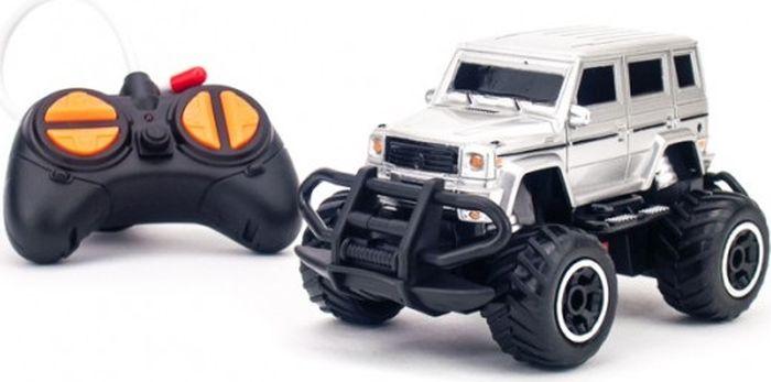 Pilotage Машина на радиоуправлении Minicross Car цвет серебристый, Машинки  - купить со скидкой