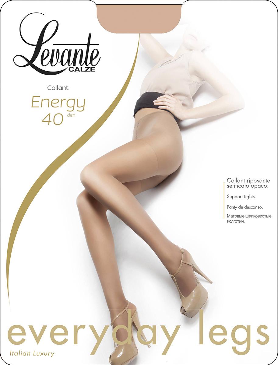 Колготки женские Levante Energy 40, цвет: Naturel (бежевый). Размер 4Energy 40Шелковистые матовые колготки Levante Energy 40. Модель с усиленными шортиками и мыском.