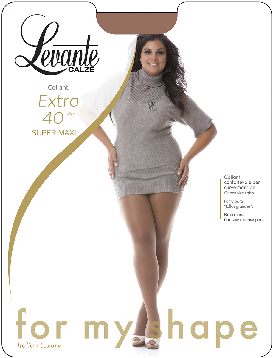 Колготки женские Levante Extra 40, цвет: Nero (черный). Размер Размер 5/6 (XL) ремень giorgio ferretti business 40 6 gf nero 40 6 115 gf nero