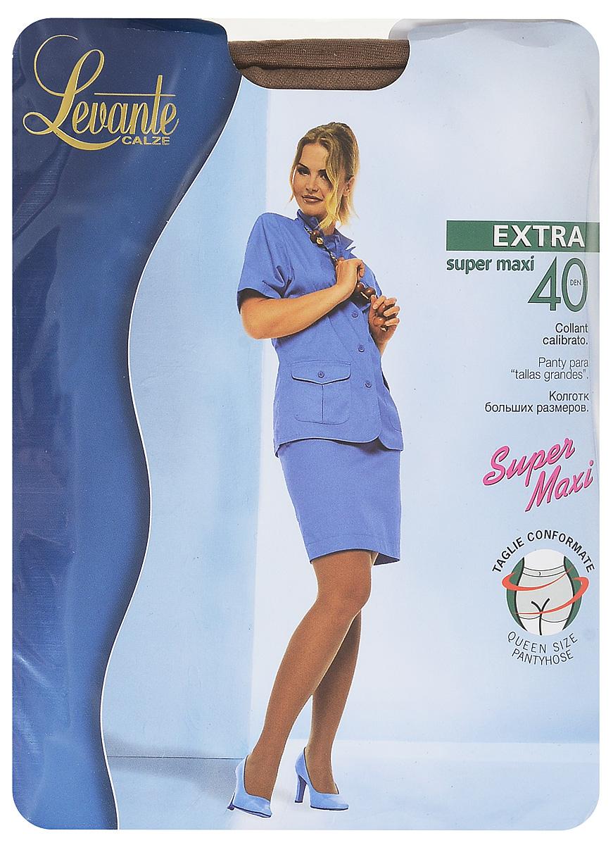 Колготки женские Levante Extra 40, цвет: Daino (темно-бежевый). Размер 5/6 (XL)Extra 40Шелковистые, матовые колготки большого размера, разработанные с учетом всех особенностей полной фигуры. Классические шортики, один шов сзади, ластовица и усиленный мысок.Уважаемые клиенты! Обращаем ваше внимание на то, что упаковка может иметь несколько видов дизайна. Поставка осуществляется в зависимости от наличия на складе.