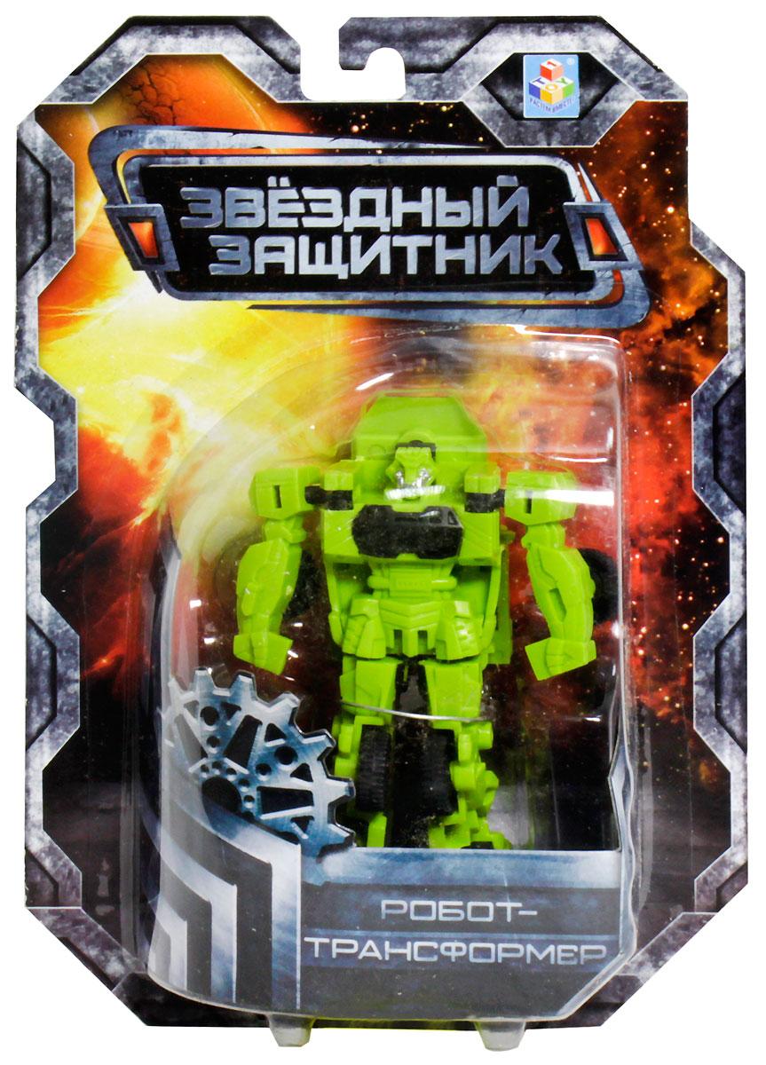 1TOY Робот-трансформер Звездный защитник бронированная машина 7 см робот на радиоуправлении звездный защитник 26 см