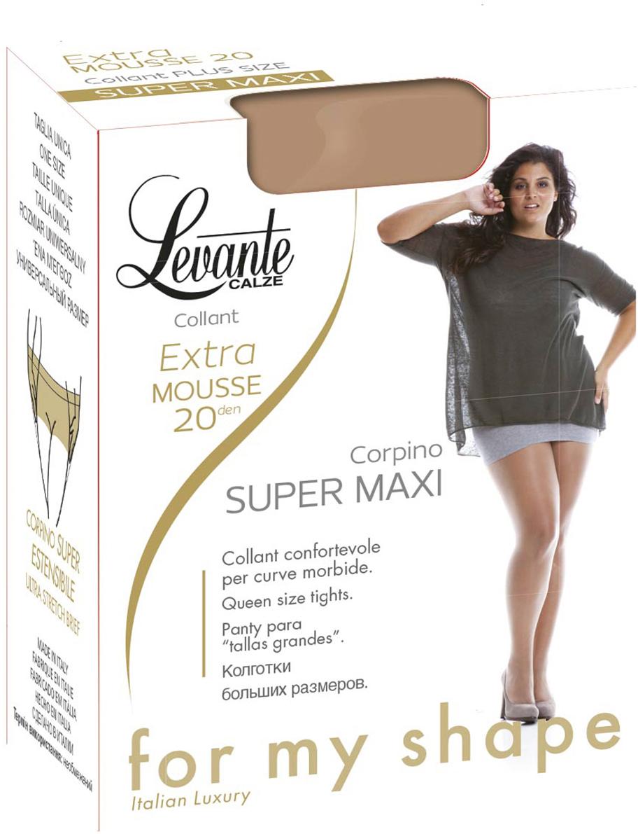 Колготки женские Levante Extra Mousse 20, цвет: Naturel (бежевый). Размер 5