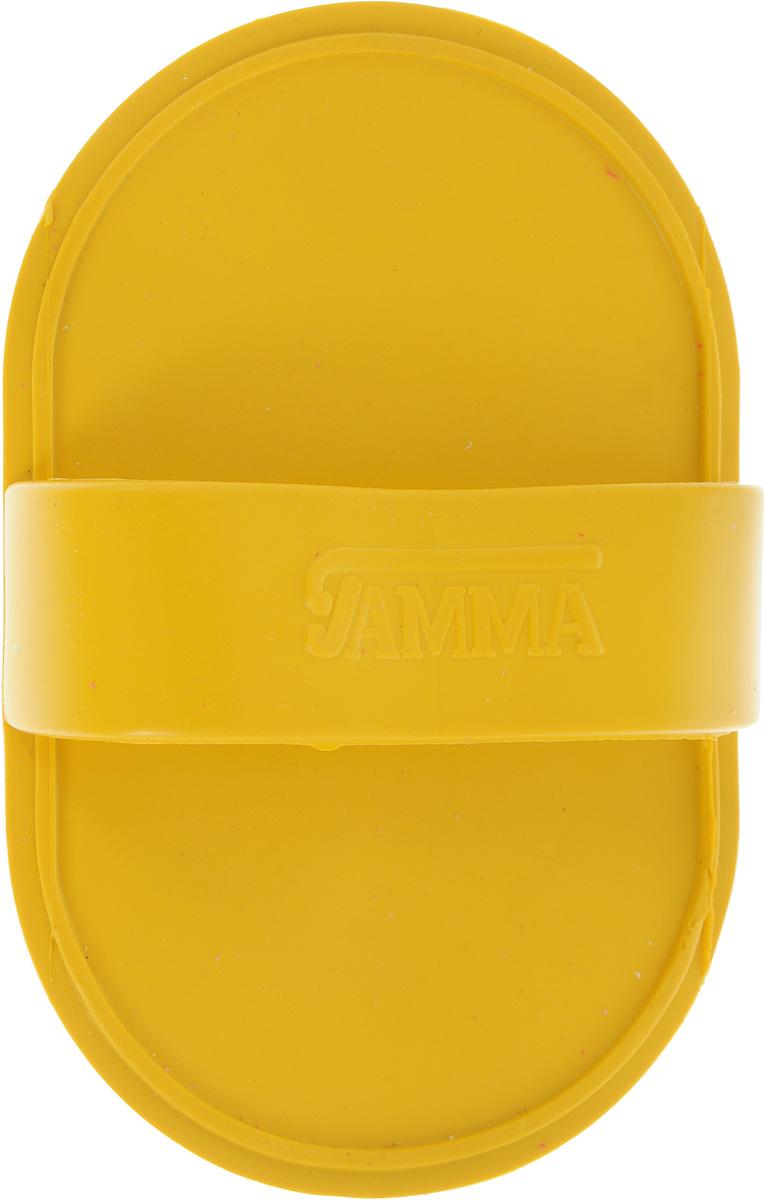 Щетка для животных Гамма, малая, цвет: темно-желтый, 12,5 х 8 х 3,5 смЩг-15400_темно-желтый/малаяМассажная щетка для животных Гамма выполнена из качественного безопасного материала, нетравмирующего кожу животного. Щетку удобно держать на руке с помощью специальной лямке. Компактный размер позволяет брать щетку с собой в дорогу.Размер щетки: 12,5 х 8 х 3,5 см.Длина зубчиков: 6 мм.