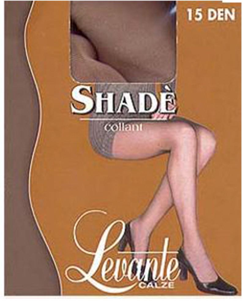 Колготки женские Levante Shade 15, цвет: Caffe (темно-коричневый). Размер 4Shade 15Тончайшие колготки от Levante с усиленными шортиками и укрепленным мыском.