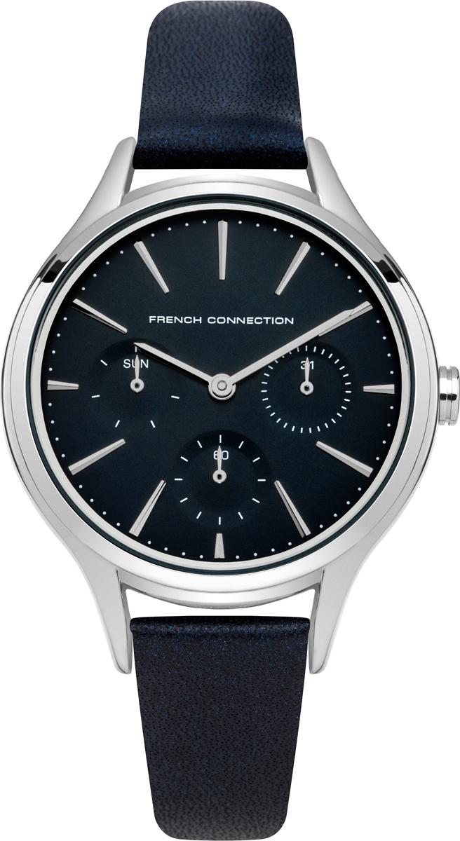 Часы наручные женские French Connection, цвет: синий, серебристый. FC1273U