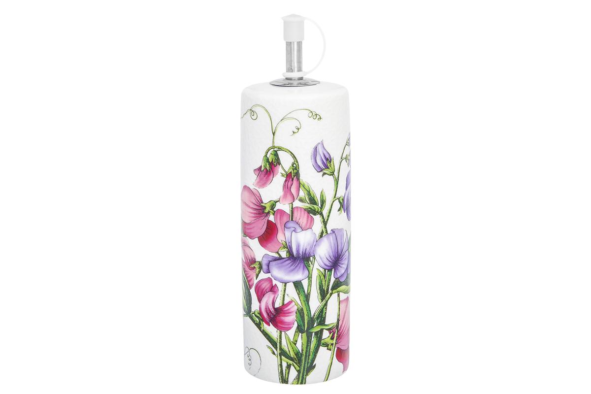 Соусник Elan Gallery Душистый горошек, цвет: белый, розовый, 250 мл масла душистый мир масло shineway 250 мл