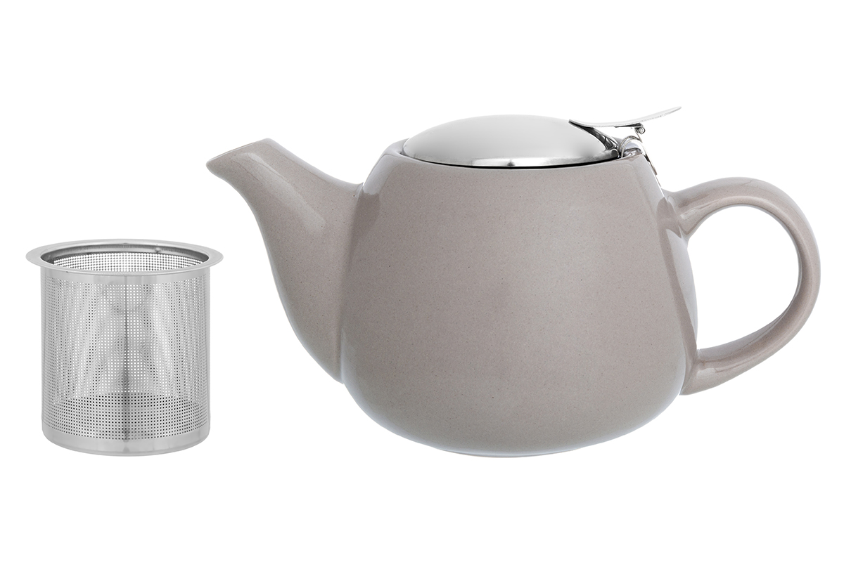 Чайник заварочный Elan Gallery, с ситом, цвет: капучино, 650 мл230155Необычный заварочный чайник украсит сервировку стола к чаепитию. Благодаря красивому дизайну и качеству исполнения он станет хорошим подарком друзьям и близким, а металлическое сито не позволит чаинкам попасть в ваш напиток.