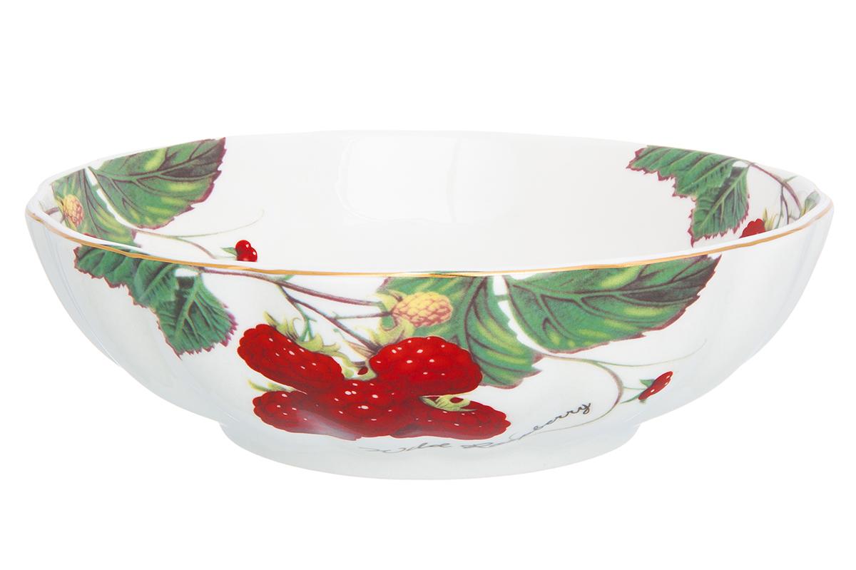 Салатник Elan Gallery Ягода-малина, 900 мл730709Великолепный салатник Elan Gallery Ягода-малина идеален для сервировки салатов. Вместительный салатник станет украшением для ваших блюд. Изделие выполнено из фарфора.