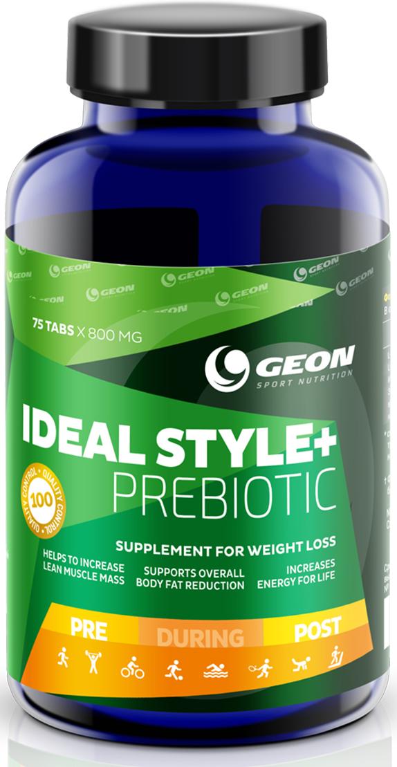 L-карнитин Geon Идеал Стайл + Пребиотик, 800 мг, 75 таблеток l карнитин geon ацетил л карнитин 600 мг 75 капсул