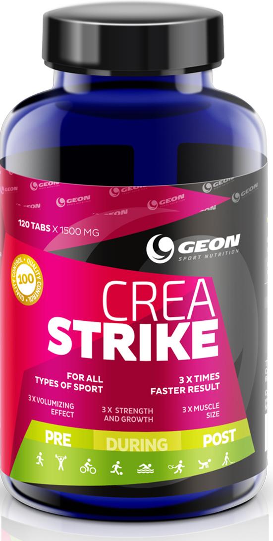 """Креатин Geon """"Креа Страйк"""", 1500 мг, 120 таблеток"""
