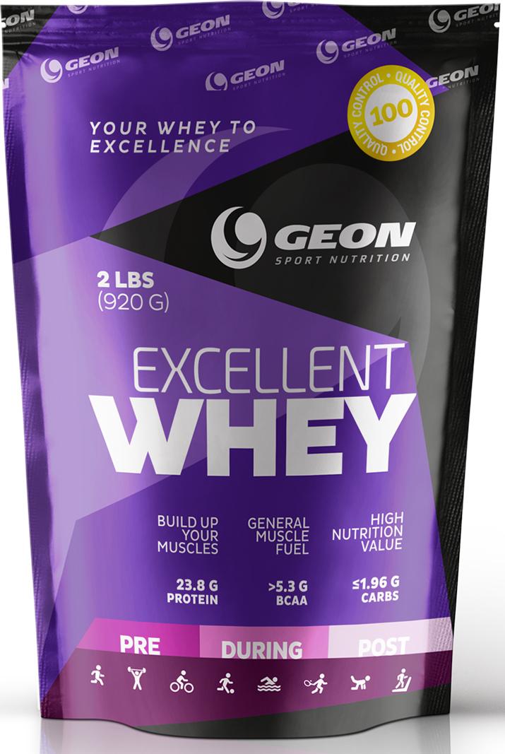 Протеин Geon Эксэллент Вэй, шоколад, 920 г540869Протеин Geon Эксэллент Вэй- это концентрат сывороточного белка. Обогащен свободными аминокислотами и пищевыми волокнами 3-гопоколения.Протеин не содержит сахар, Ацесульфам, аспартам и цикломат.Концентрат отличается приятным вкусом.Состав протеина:- концентрат молочного белка,- глицин,- бетаина гидрохлорид,- мономульс,- пищевые волокна цитрусовых,- лецитин,- ксантановая камедь,- сукралоза,- смесь ароматизаторов.