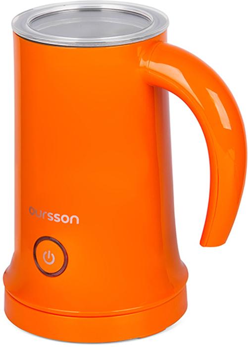 Oursson MF2005/OR, Orange вспениватель молокаMF2005/ORВспениватель молока Oursson MF2005 - это современное и полезное устройство на вашей кухне. С его помощью вы легко приготовите не только плотную молочную пену для утреннего капучино, но и различные напитки - от восхитительного горячего какао для детей до ароматного глинтвейна, грога или пунша для взрослых. В устройстве предусмотрены 3 режима работы: вспенивание холодного молока, вспенивание с подогревом и режим подогрева. В комплект входят две насадки: для взбивания и для перемешивания. Благодаря антипригарному внутреннему покрытию молоко не пристает к стенкам и очистку производить легко и приятно.