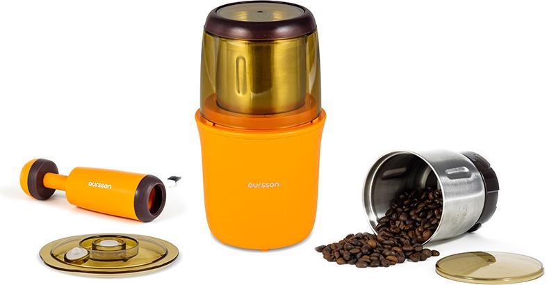 Oursson OG2075/OR, Orange кофемолка-мультимолка