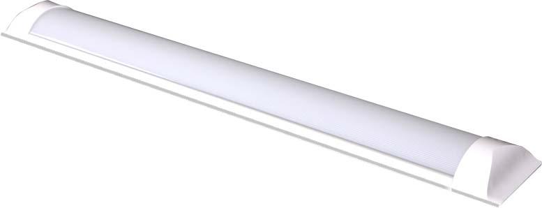 Светильник светодиодный Beghler, линейный, 18W, 4200K. BN18-00613BN18-00613Светодиодный линейный светильник выполнен на основе светодиодов белого цвета, расположенных равноудаленно друг от друга на электронной плате. Во избежании перегрева расположить источник света не менее 30 см. от освещаемой поверхности.Индекс RA для светодиодов превышает 80 (индекс естественного дневного света равен 100). Срок службы светодиодов превышает срок службы лампы накаливания более, чем в 10 раз.