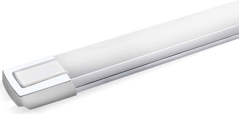 Светильник светодиодный Beghler, линейный, 36W, 6400K. BN19-01230BN19-01230Светодиодный линейный светильник выполнен на основе светодиодов белого цвета, расположенных равноудаленно друг от друга на электронной плате. Во избежании перегрева расположить источник света не менее 30 см. от освещаемой поверхности.Индекс RA для светодиодов превышает 80 (индекс естественного дневного света равен 100). Срок службы светодиодов превышает срок службы лампы накаливания более, чем в 10 раз.