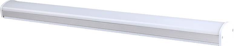Светодиодный линейный светильник выполнен на основе светодиодов белого цвета, расположенных равноудаленно друг от друга на электронной плате. Во избежание перегрева расположить источник света не менее 30 см. от освещаемой поверхности.Индекс RA для светодиодов превышает 80 (индекс естественного дневного света равен 100). Срок службы светодиодов превышает срок службы лампы накаливания более, чем в 10 раз.