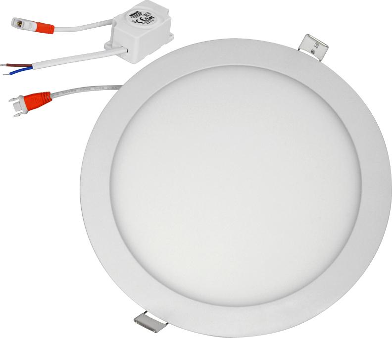 Светодиодная встраиваемая панель. Инновационный и экологичный продукт. Источник света - светодиод. Не имеет аналогов по энергосбережению и сроку службы. Диаметр установочного отверстия 105 мм.