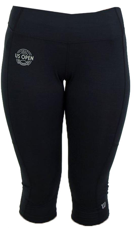Капри женские Wilson Rush Capri II, цвет: черный. WRA742001. Размер XL (52/54) lole капри lsw1207 lotus capri m red sea