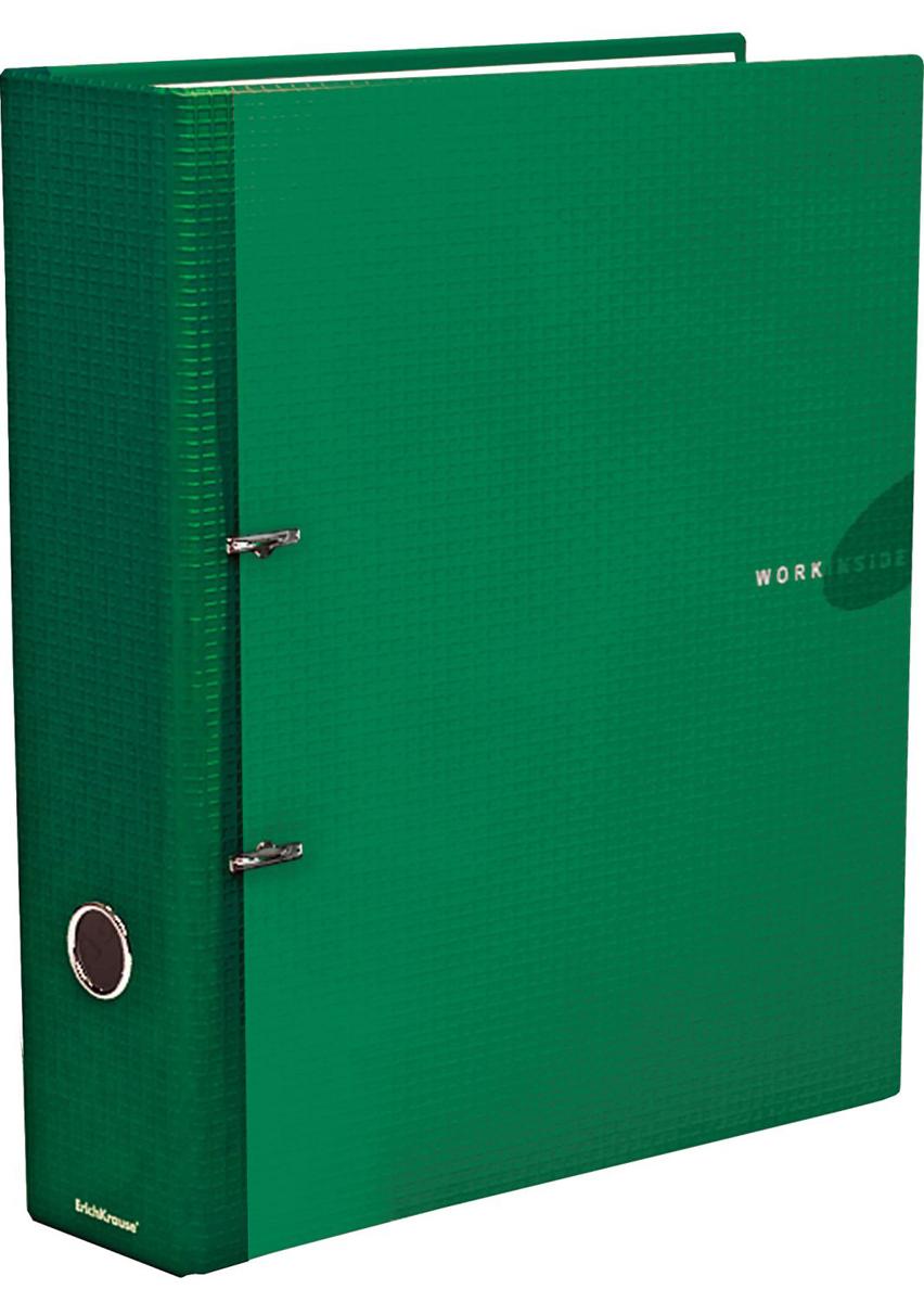 Erich Krause Папка-регистратор с арочным механизмом Work Inside 70 мм формат А4 цвет зеленый - Папки
