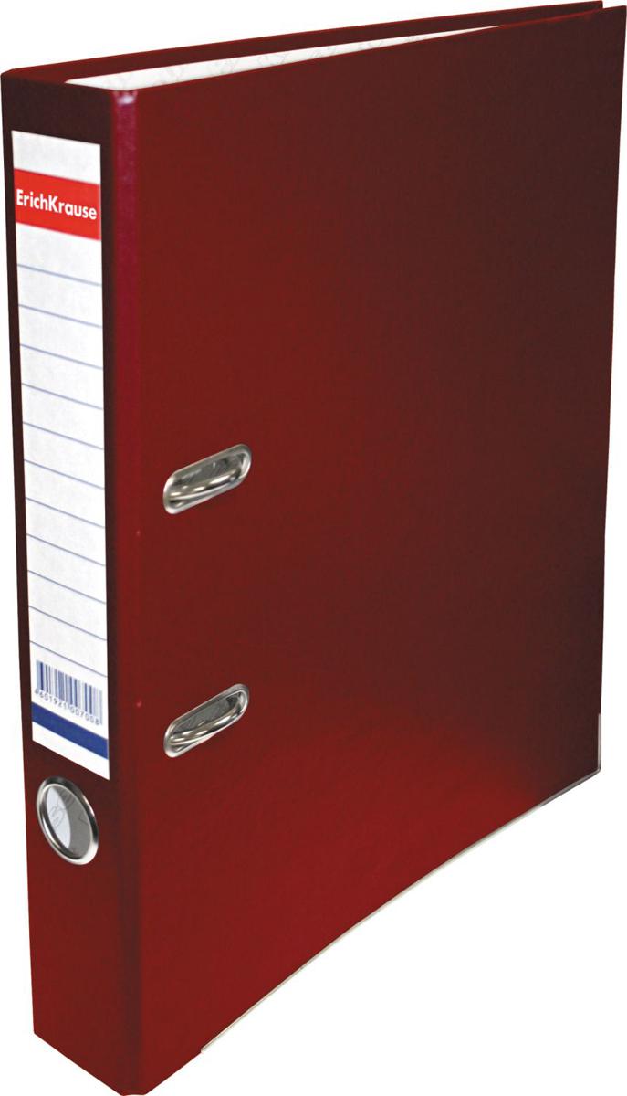 Erich Krause Папка-регистратор с арочным механизмом Business 50 мм формат А4 цвет бордовый - Папки