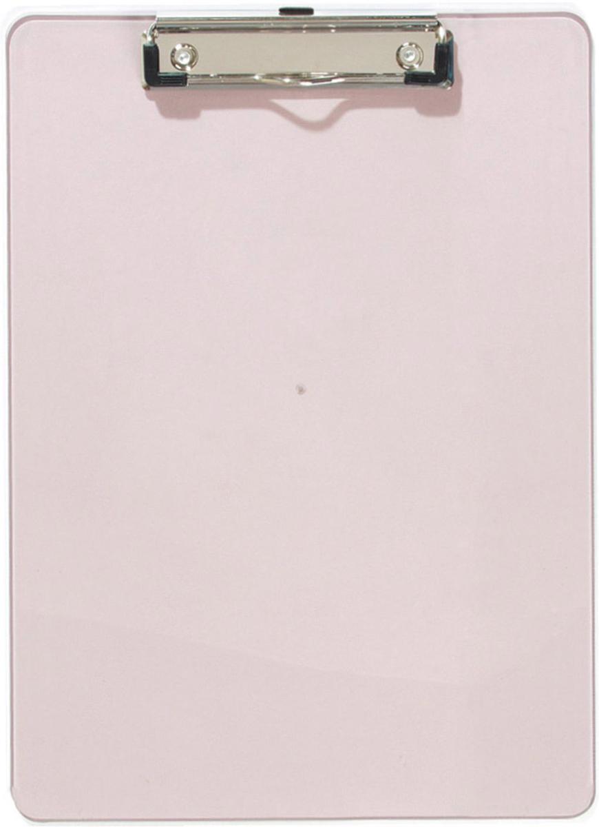 Erich Krause Планшет с верхним зажимом формат A4 цвет дымчатый2442Доска из прозрачного пластика с металлическим верхним зажимом. Мощный пружинный зажим имеет уголки, предотвращающие выскальзывание бумаги.