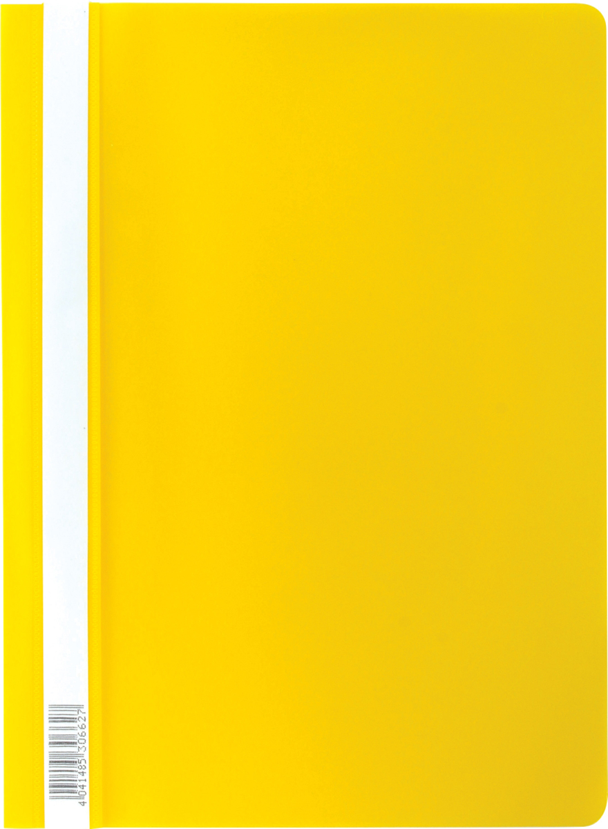 Erich Krause Папка-скоросшиватель Semi-Clear Economy формат А4 цвет желтый