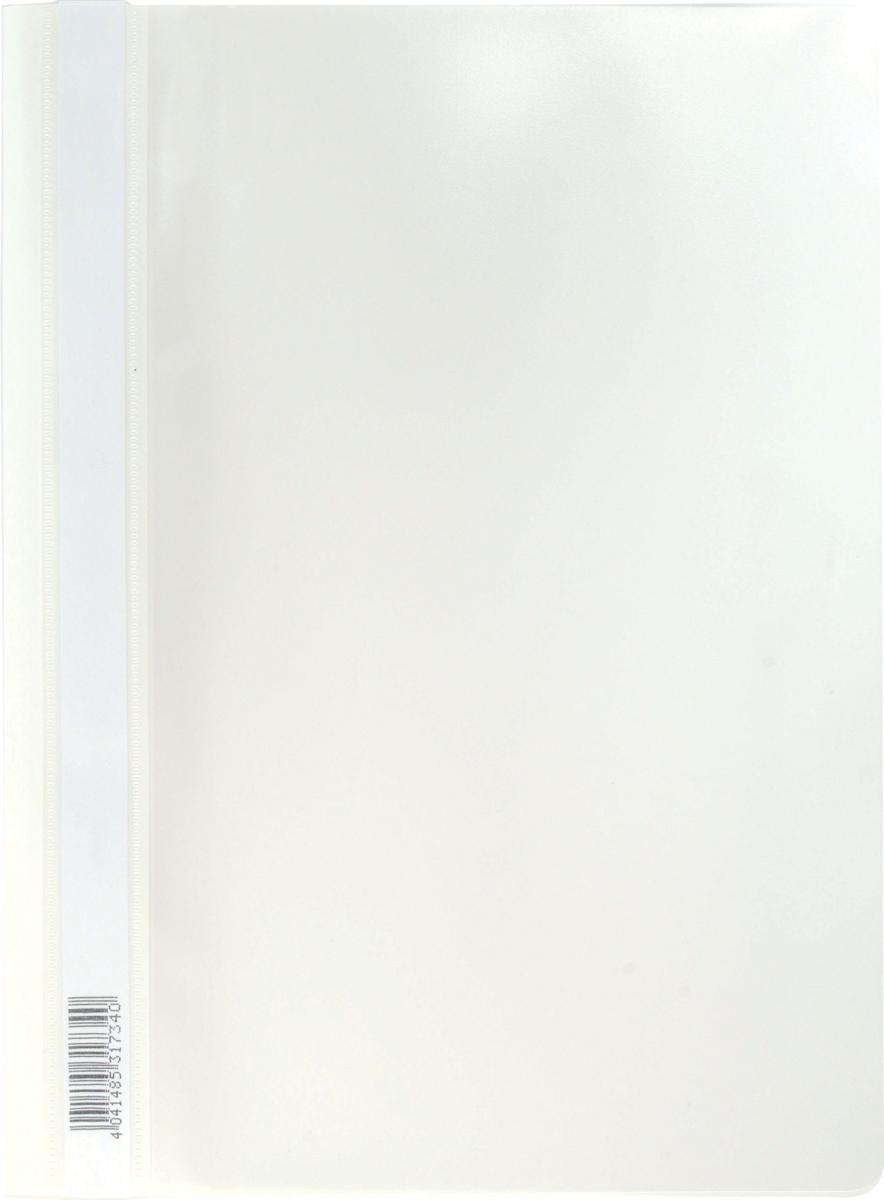 Erich Krause Папка-скоросшиватель Semi-Clear Economy формат А4 цвет белый erich krause угольник clear 60 градусов 225 мм