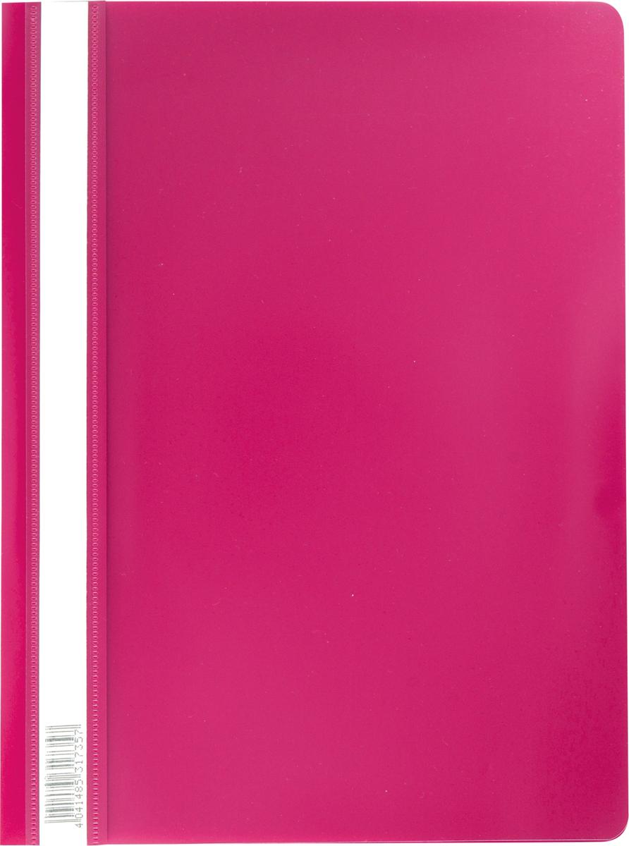 Erich Krause Папка-скоросшиватель Semi-Clear Economy формат А4 цвет бордовый erich krause угольник clear 60 градусов 225 мм