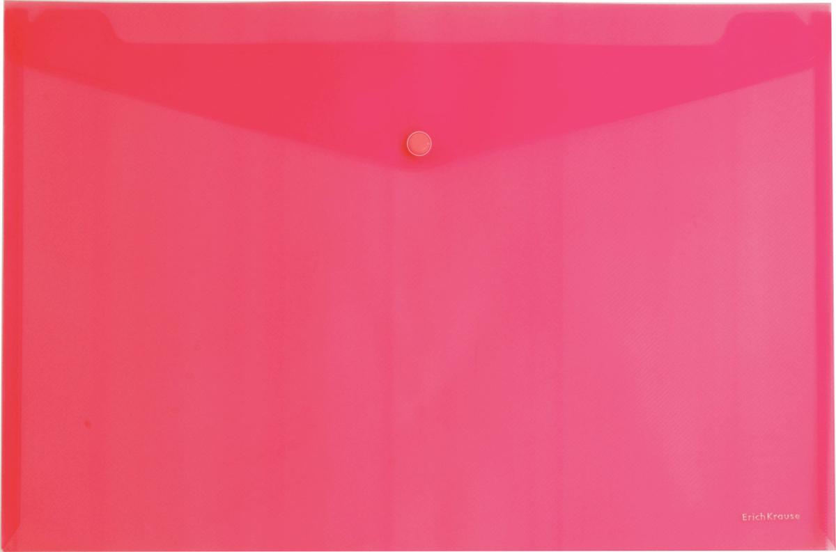 Erich Krause Папка-конверт на кнопке формат А4 цвет красный 4293242932Папка-конверт на кнопке Erich Krause - удобный и практичный офисный инструмент,предназначенный для хранения и транспортировки рабочих бумаг и документов формата А4.Папка изготовлена из прозрачного пластика. Практичная застежка-кнопка удобна для частогоиспользования и обеспечивает быстрый доступ к документам. С такой папкой вашидокументы всегда будут в полном порядке!