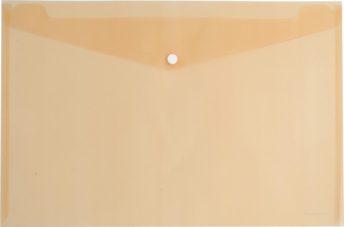 Erich Krause Папка-конверт на кнопке формат А4 цвет оранжевый 4293742937Папка-конверт на кнопке Erich Krause - удобный и практичный офисный инструмент,предназначенный для хранения и транспортировки рабочих бумаг и документов формата А4.Папка изготовлена из прозрачного пластика. Практичная застежка-кнопка удобна для частогоиспользования и обеспечивает быстрый доступ к документам. С такой папкой вашидокументы всегда будут в полном порядке!